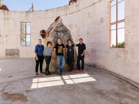 2019 Artists-in-Residence at Stromlo Observatory, 2019.Photo: 5 Foot Photography