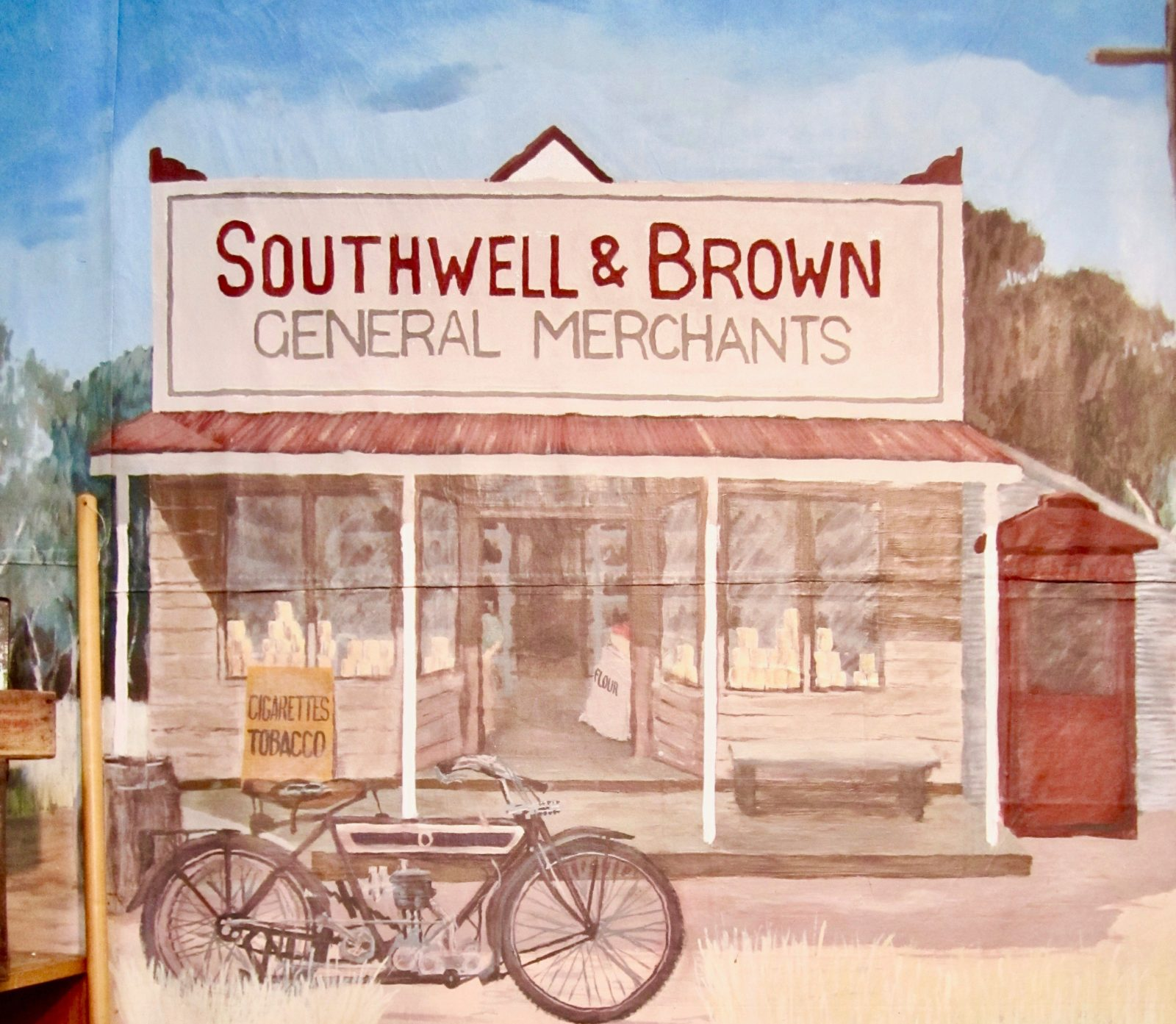 Southwell and Brown Premier Store Victoria Street, Hall