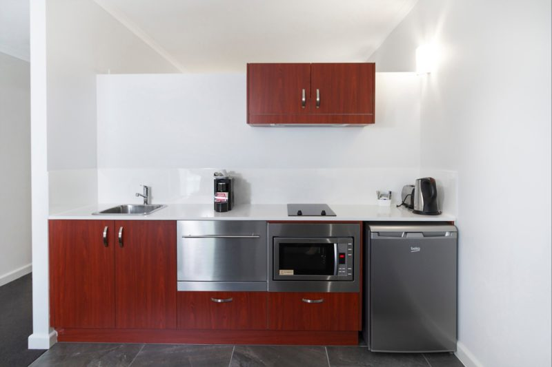 In-room Kitchenette at Abode Narrabundah