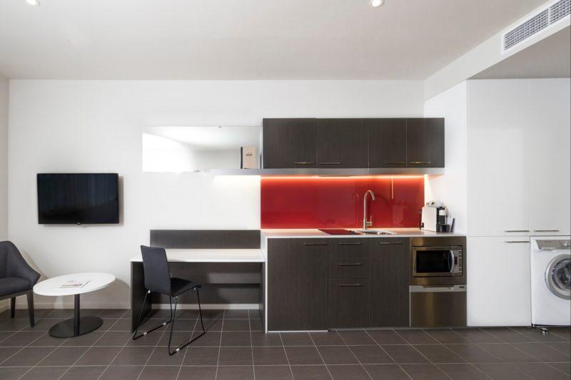 Kitchenette at Abode Woden