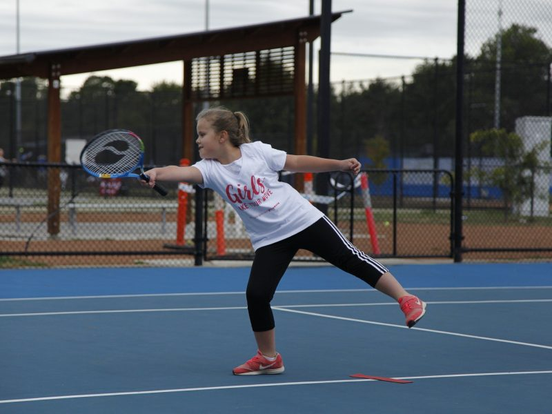 A free women and girls sports day will be held during the ACT Claycourt International