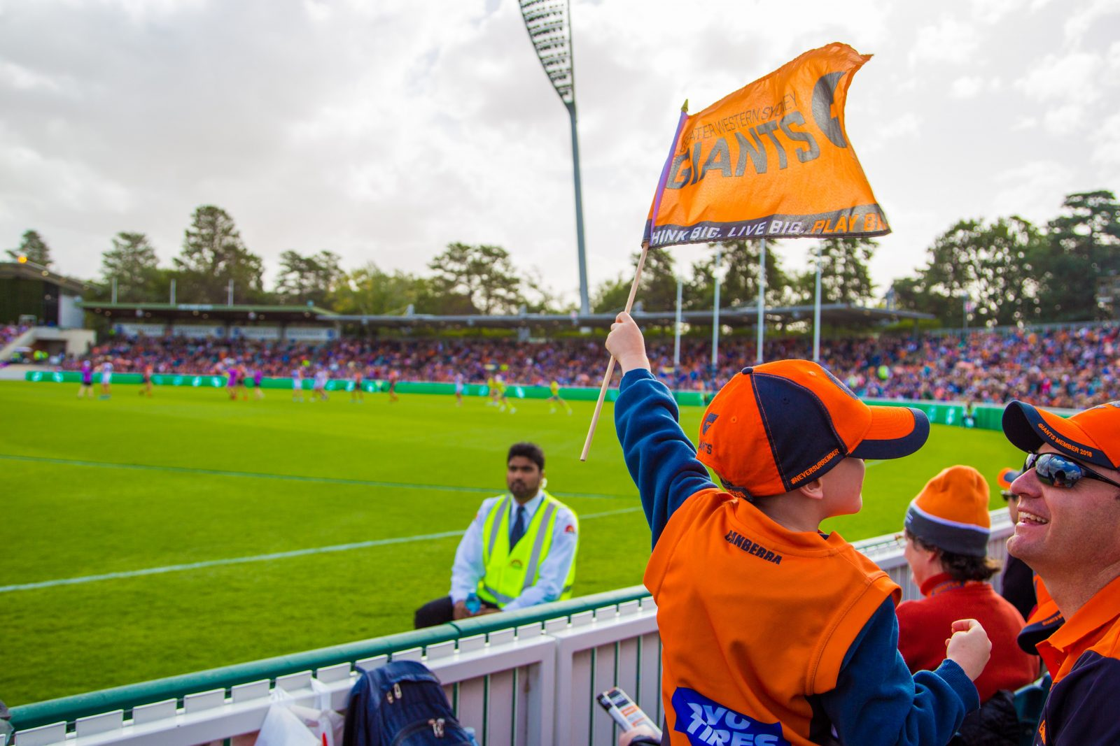 Be there when AFLW GIANTS v Geelong Cats in the Friday night blockbuster