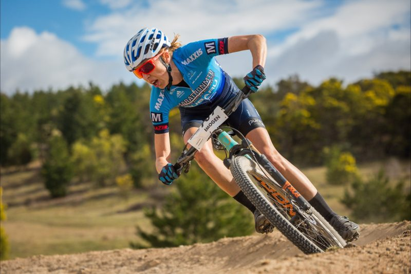 Rocky Trail racer in action at Stromlo.