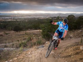 Racing the AMB100 Marathon at Stromlo.