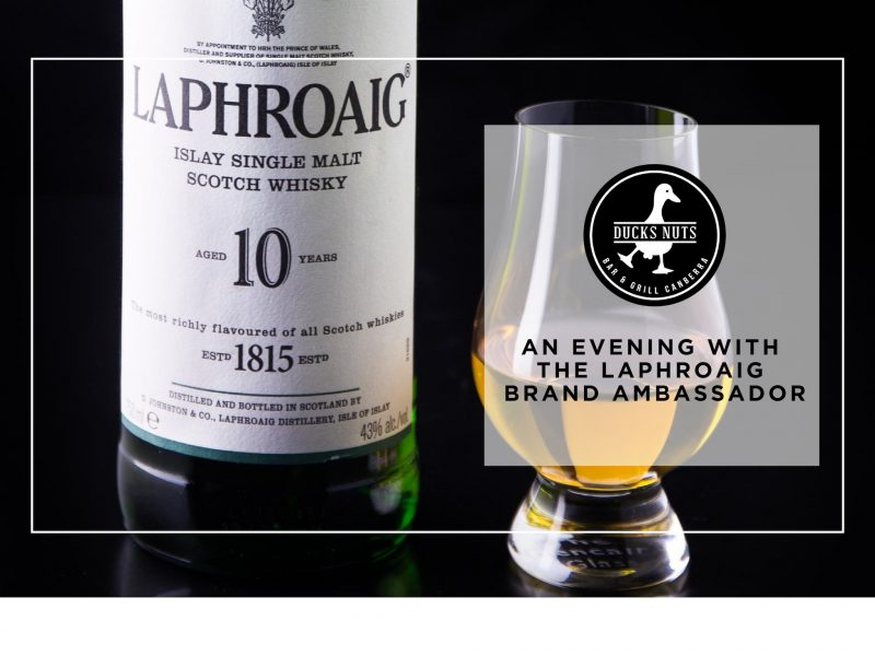An evening with the Laphroaig Brand Ambassador
