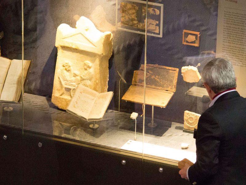 Volunteer guide at ANU Classics Museum