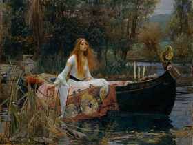 John William Waterhouse The Lady of Shalott 1888, oil on canvas, © Tate, London 2018