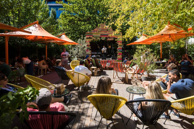 Courtyard Stage in NewActon