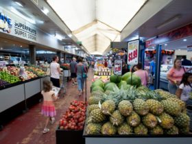 Market interior