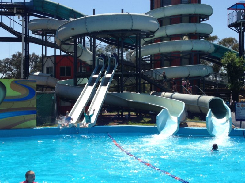 Big Splash slides
