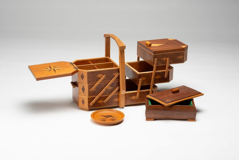 a timber jewellery case