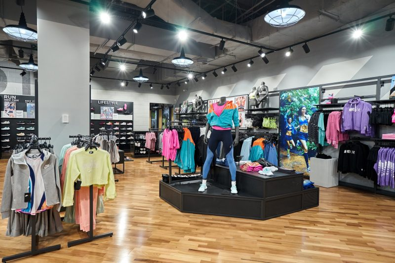 Nike North face Canberra Centre