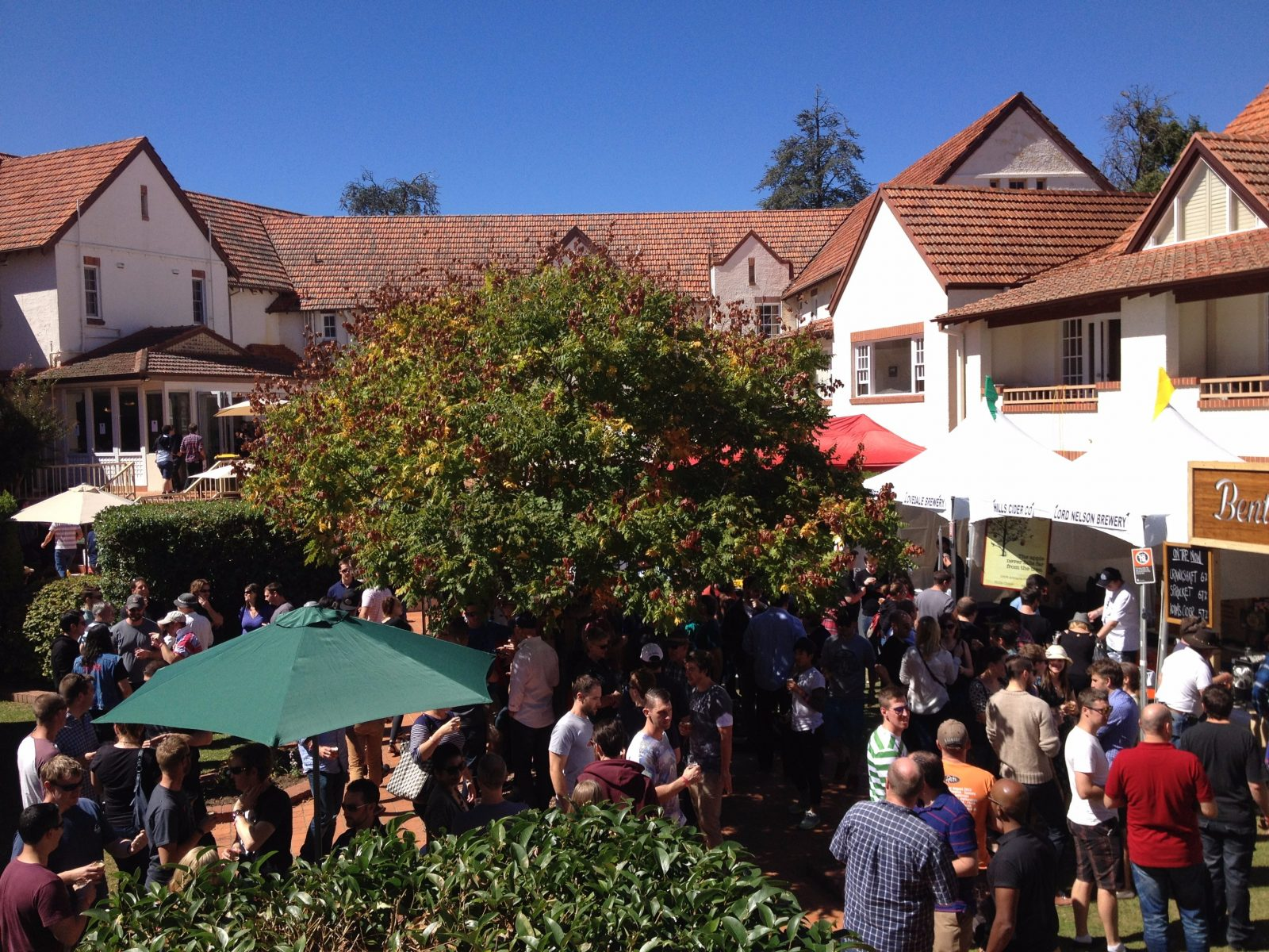 Canberra Craft Beer & Cider Festival crowds at Mercure Canberra
