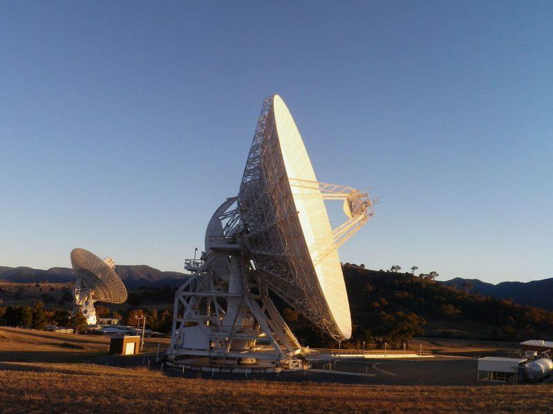Deep Space Station 34 Deep space communication antennas