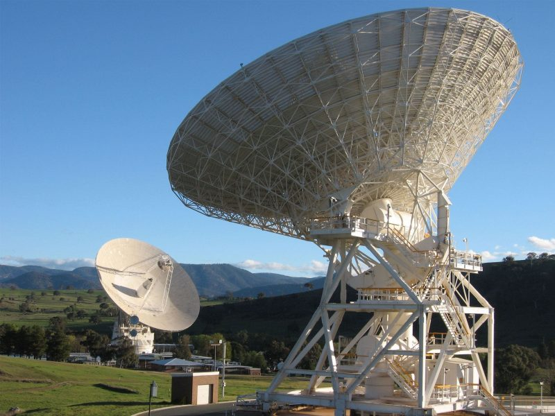 Capturing whispers from deep space at Deep space communication antennas