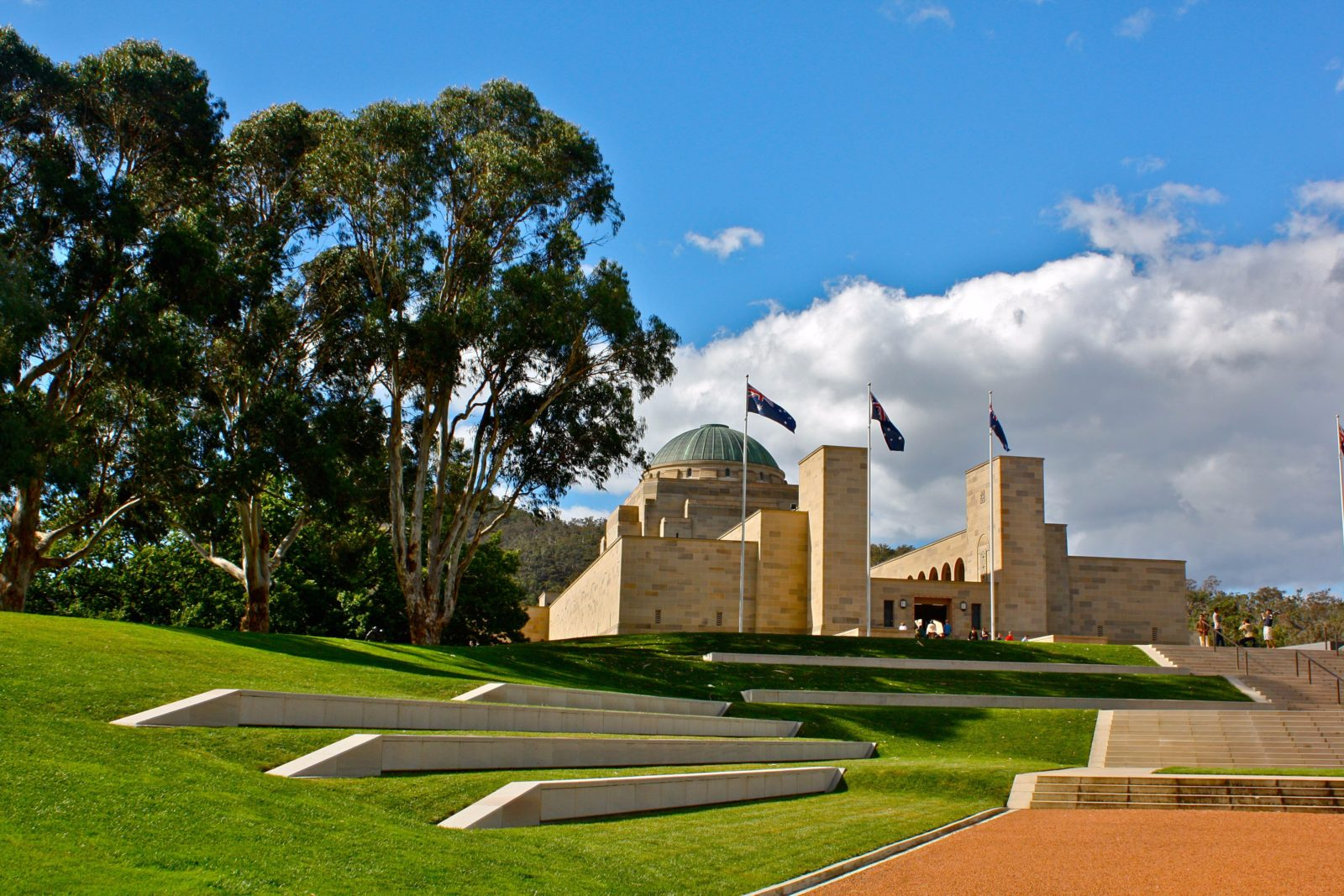 Exterior Australian War Memorial
