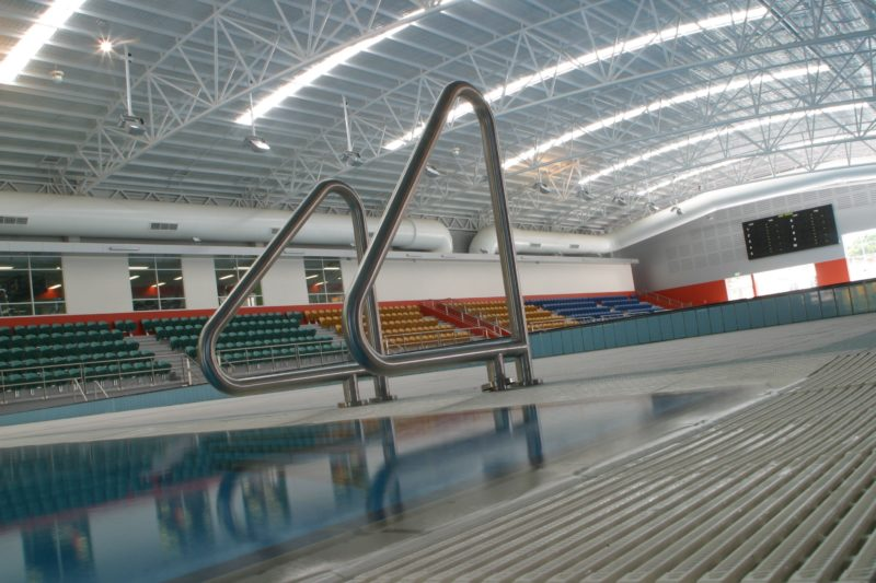 The aquatic centre at Canberra International Sports and Aquatic Centre