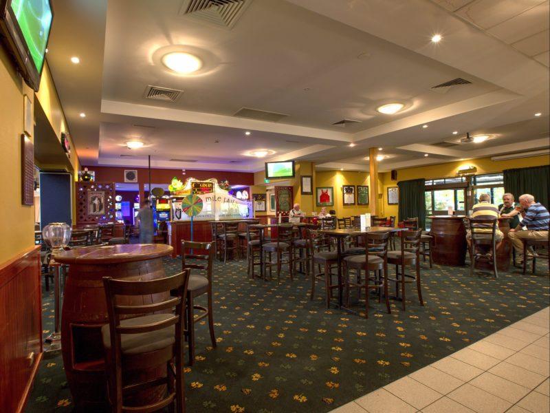 Club interior