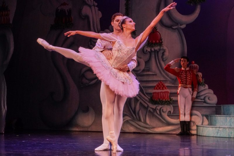 Performers from Queensland Ballet's The Nutcracker