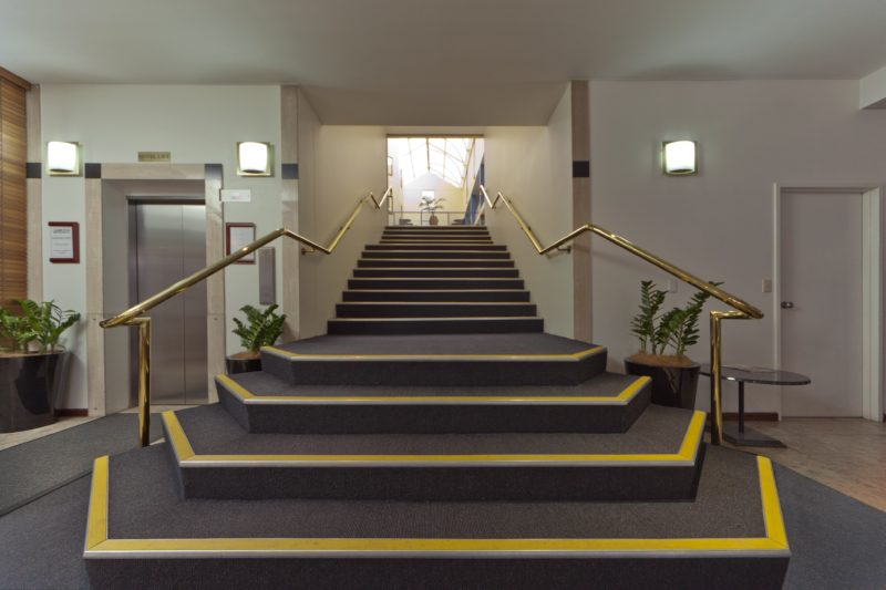 Reception staircase
