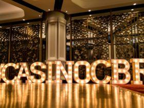 Casino Canberra in lights