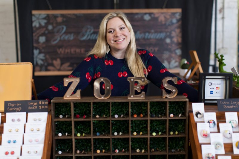 Image of Zoes Button Emporium stall