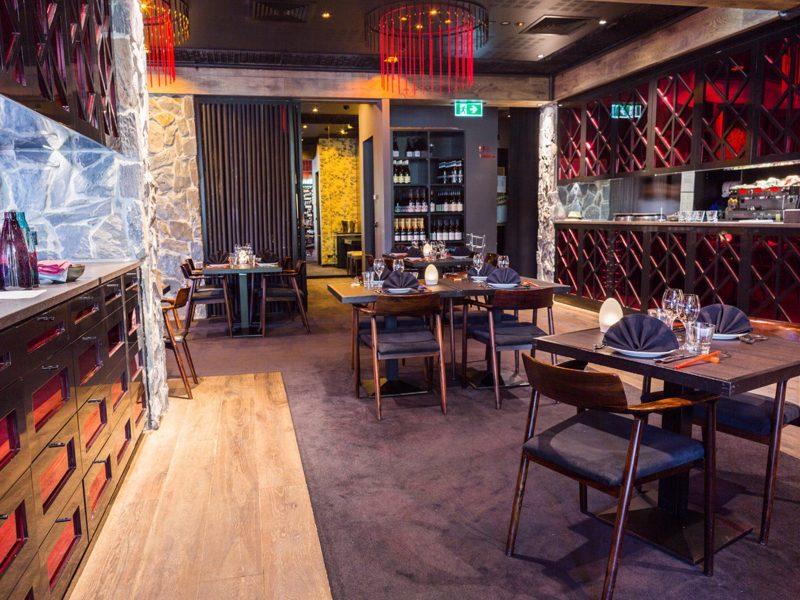Chairman & Yip dining room