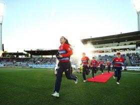 England enter Manuka Oval
