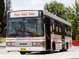 photo of Culture Loop branded bus