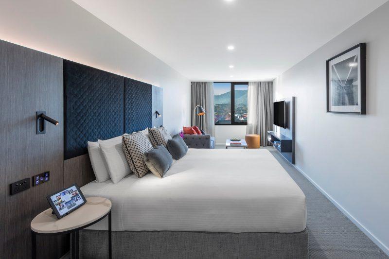 Deco Hotel Room