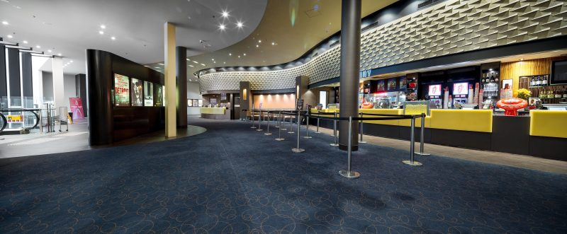 Dendy Cinemas Foyer where our birthday activities will take place