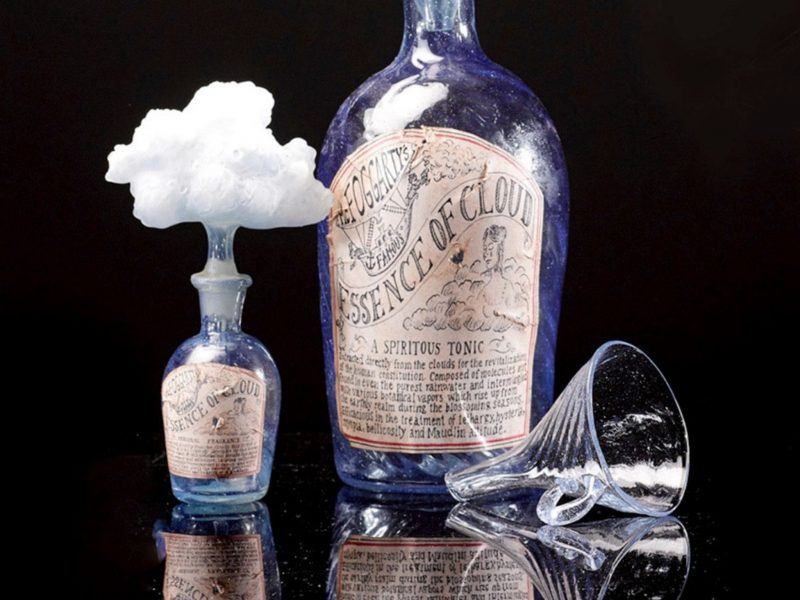 Mark Eliot, Cloud Essence bottles. Photo: Courtesy of the artist