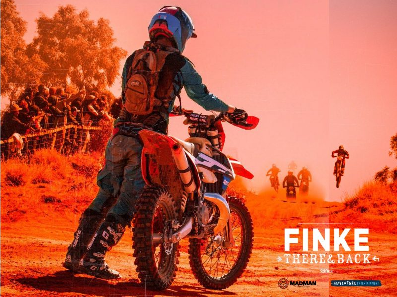 Finke:There and back