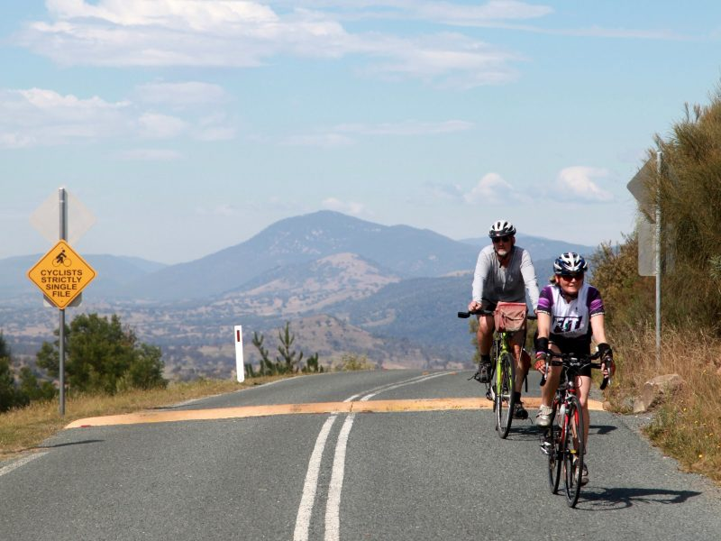 Made it up Mt Stromlo