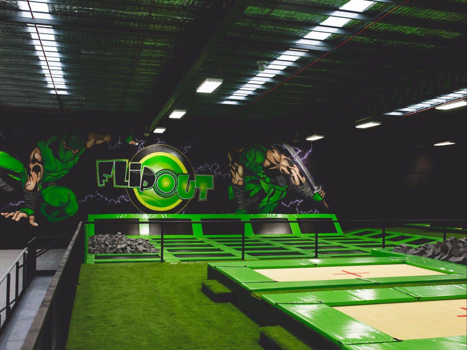 Indoor trampolines