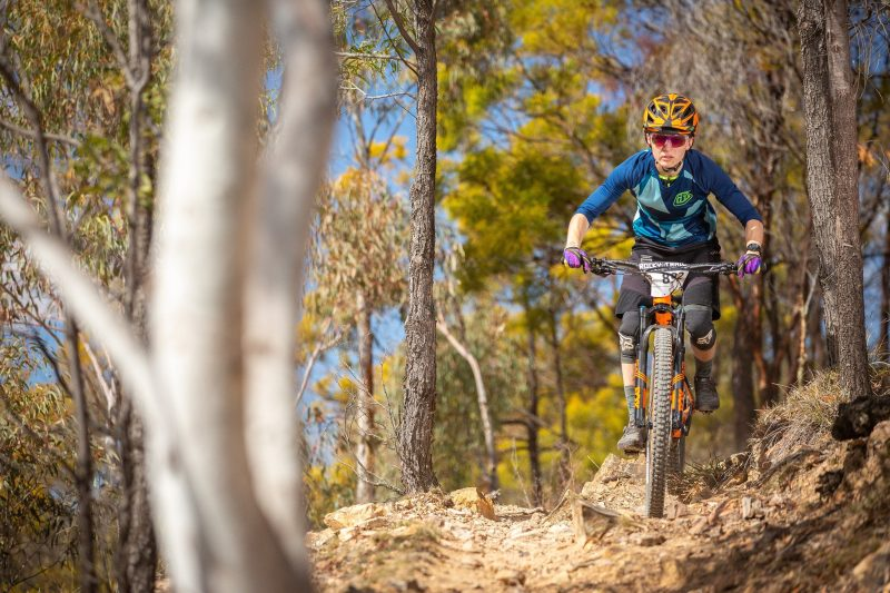 Fox Superflow racing action at Stromlo.