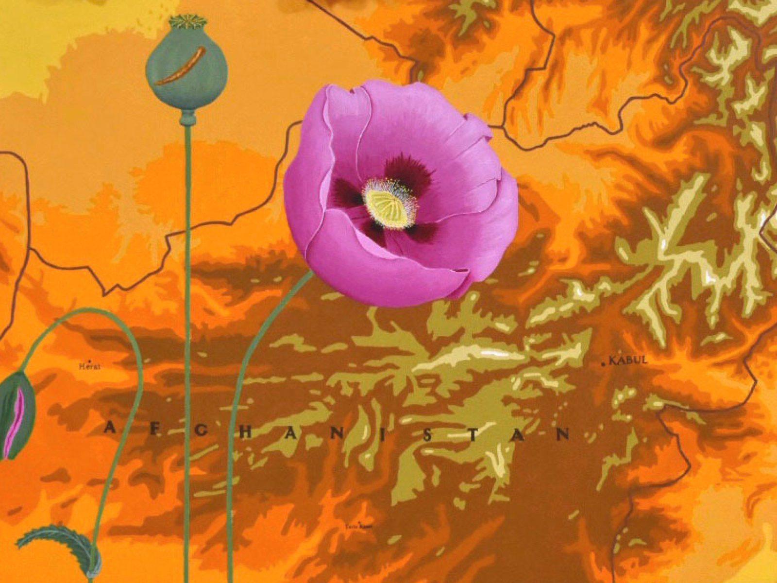 Geoffrey Jones - Lament for Afghanistan (Detail)