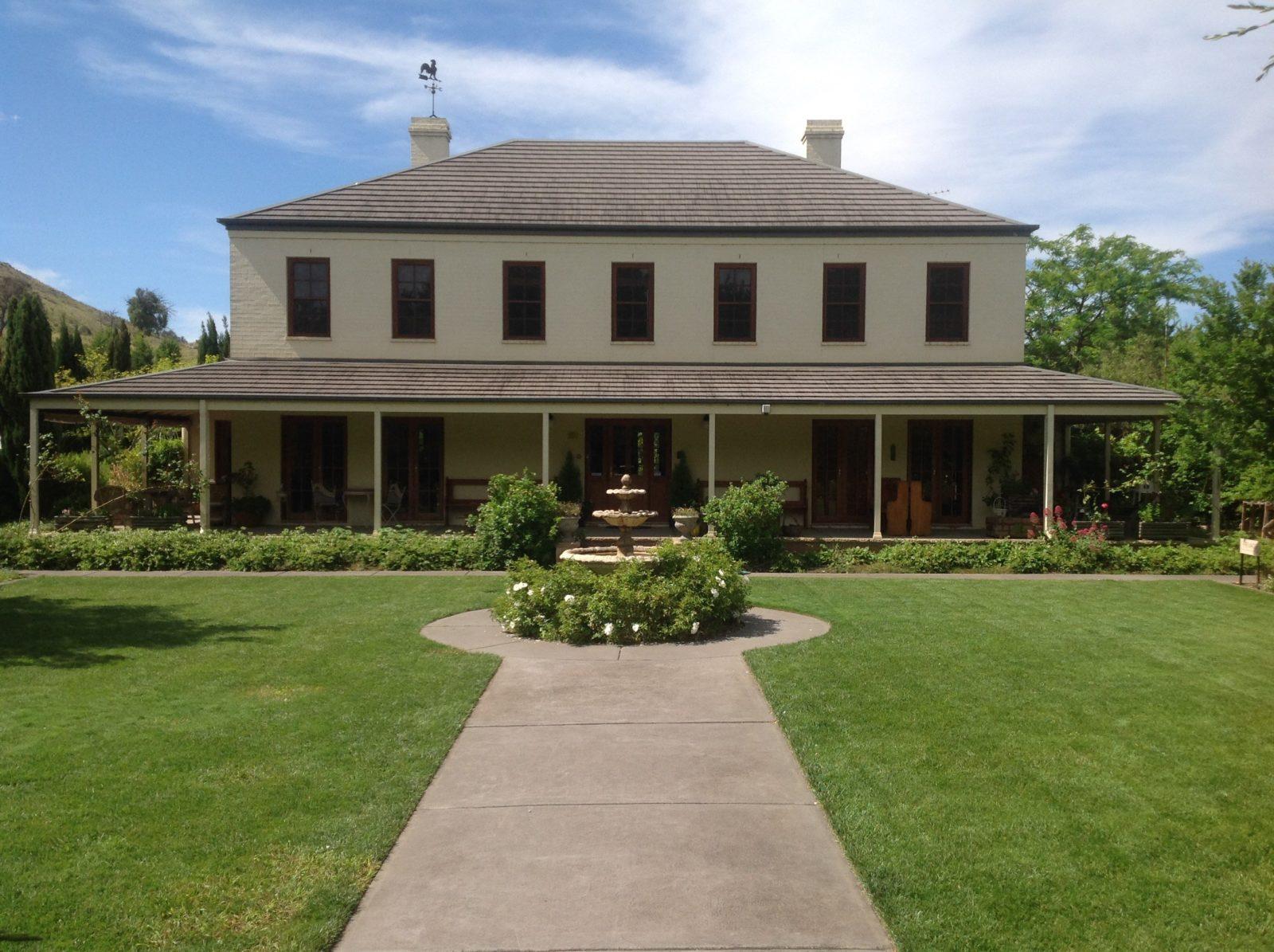 Ginninderry Homestead exterior