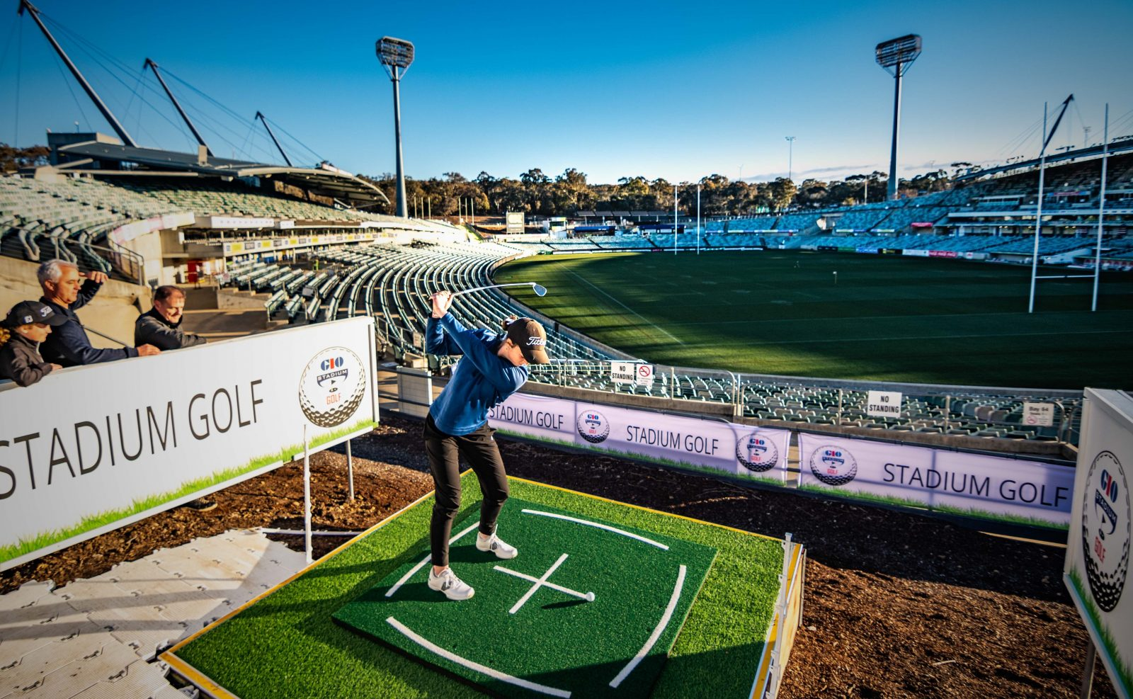 Stadium Golf is for all ages, bring the family along and take advantage of the family ticket price.