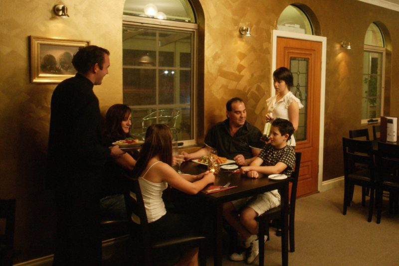 Family at Lassiters Restaurant