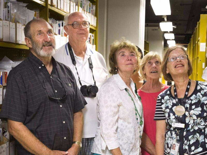 People on a Behind The Scenes guided tour