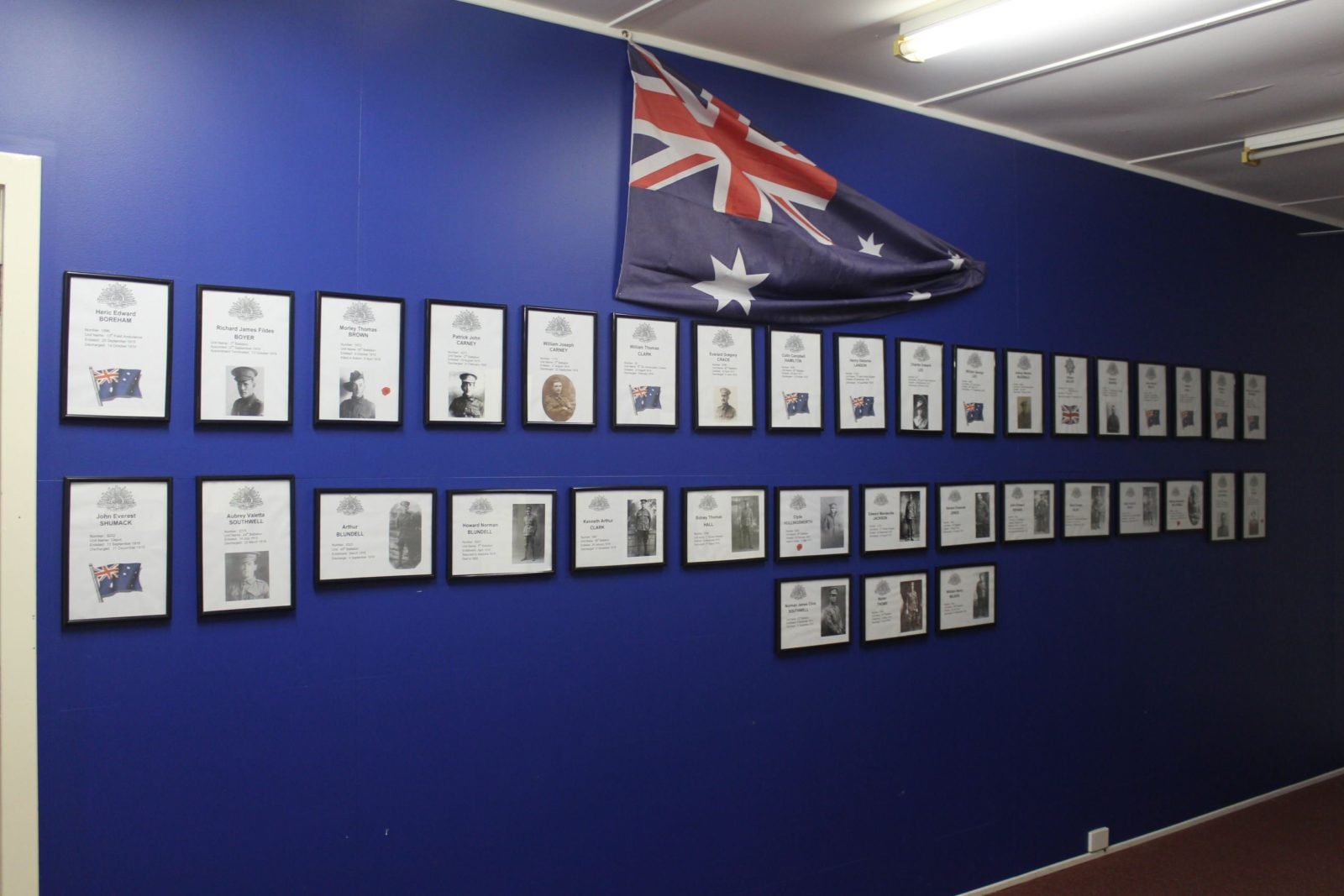 Wall of Honour