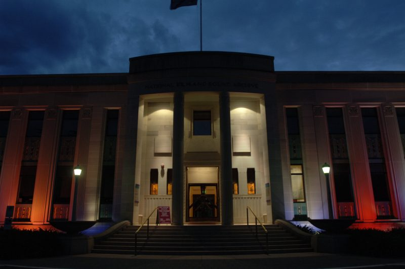 The NFSA building in Acton has a reputation of being one of the most haunted in Australia