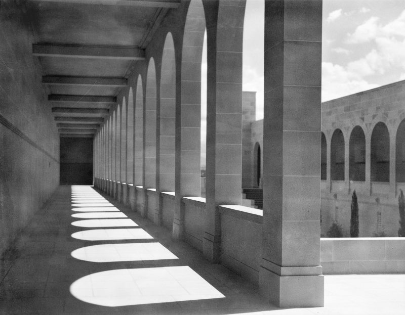 The Roll of Honour cloisters, 1945. (085709)