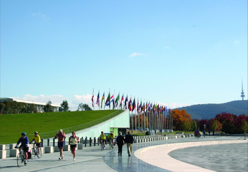 International Flag Display at Commonwealth Place