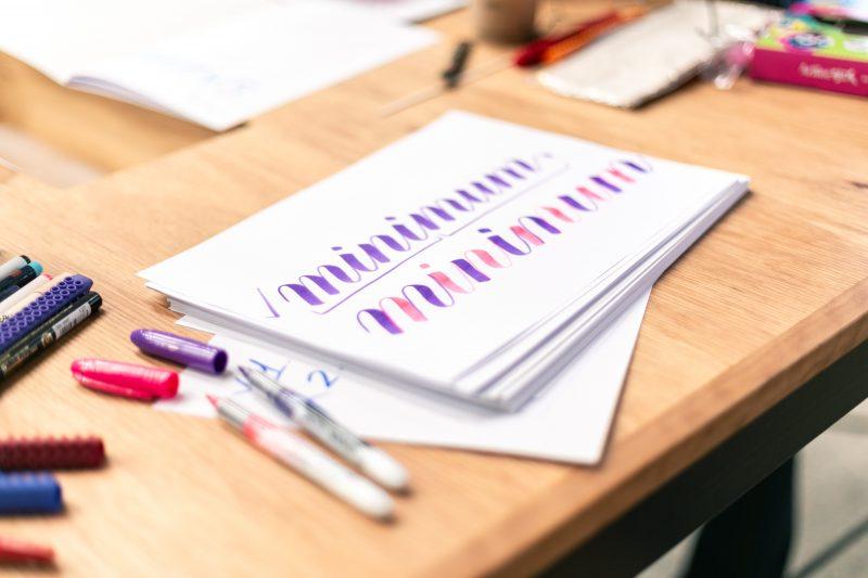 YaMogu Brush Lettering Workshop