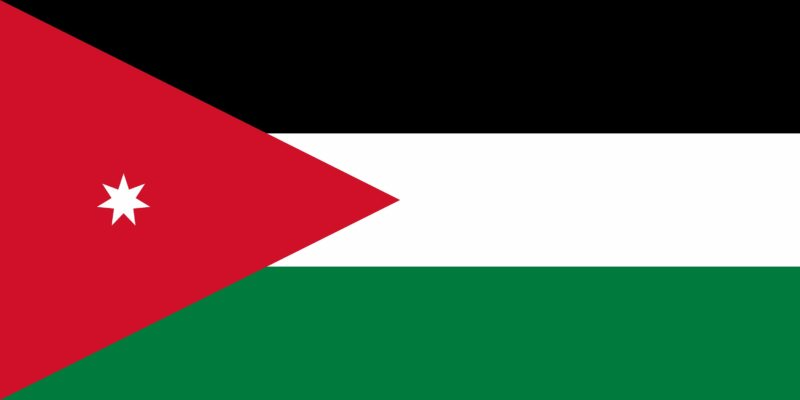 Flag of the Hashemite Kingdom of Jordan