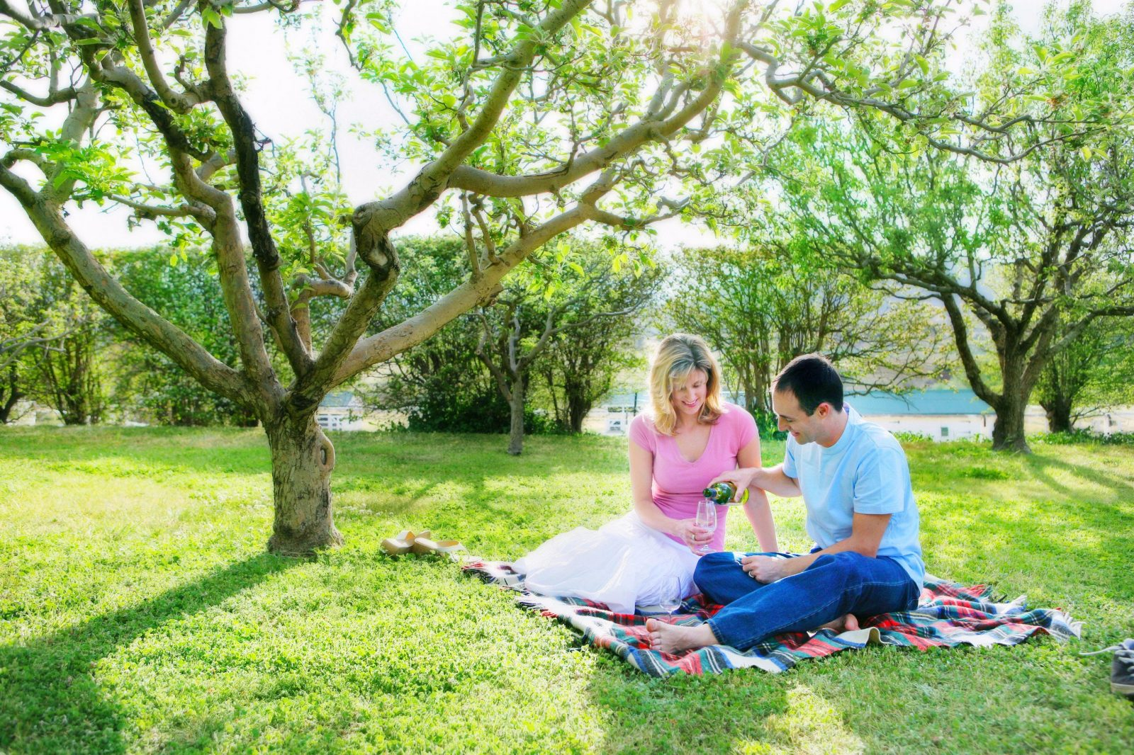 The beautiful historic gardens are perfect for a picnic