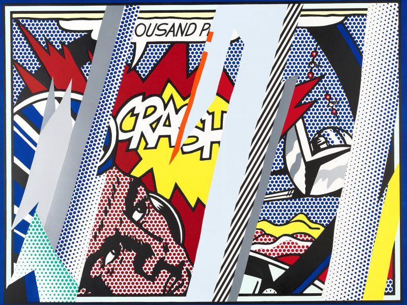 Roy Lichtenstein Reflections on Crash 1990
