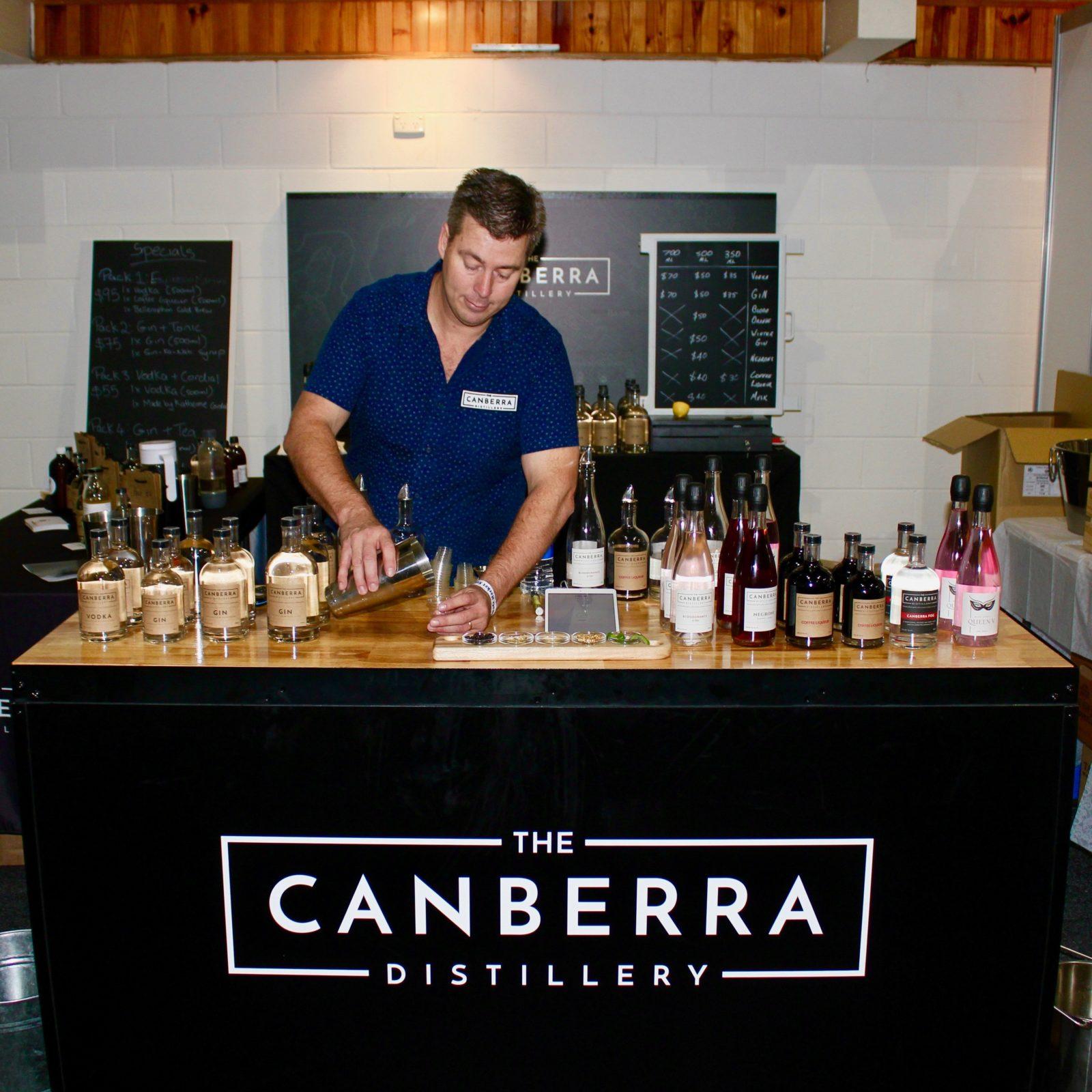Master Distiller talk at Canberra Distillery